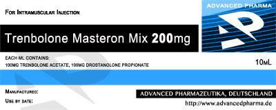 Trenbolone Masteron Mix